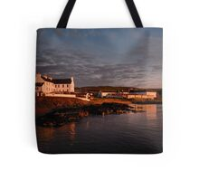 Islay: Port Charlotte Dawn Tote Bag