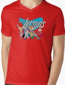 Jetsons Mens V-Neck T-Shirt
