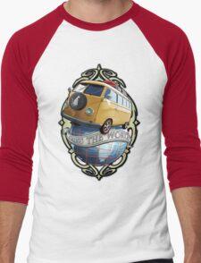 T1 Bus - Cross the World Men's Baseball ¾ T-Shirt