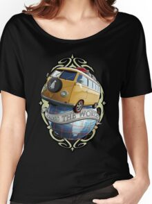 T1 Bus - Cross the World Women's Relaxed Fit T-Shirt