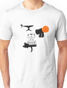 stormtrooper whiteout! Unisex T-Shirt