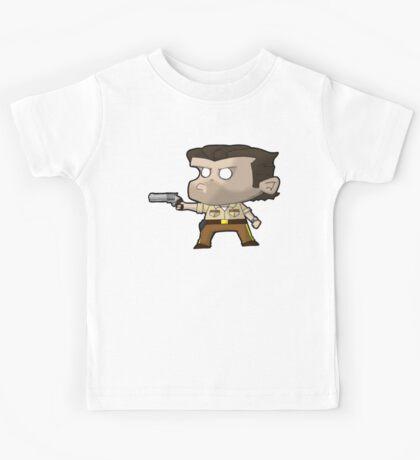 TWD Rick Grimes inspired chibi style (Alternative) Kids Tee