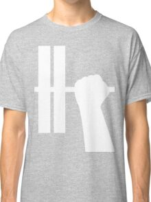 WORKOUT BAR SHIRT-WHITE Classic T-Shirt