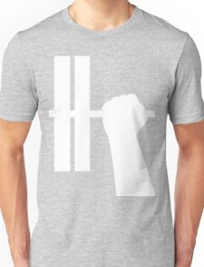 WORKOUT BAR SHIRT-WHITE Unisex T-Shirt