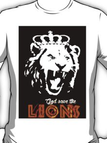 God Save The Lions T-Shirt