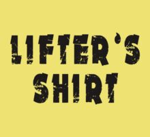 lifter's shirt One Piece - Short Sleeve