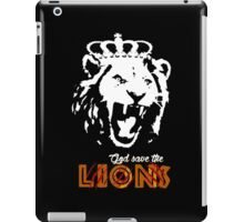 God Save The Lions iPad Case/Skin