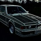 BMW 635csi Highline (1989) Etched by Steve Pearcy