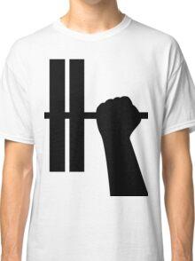 WORKOUT BAR SHIRT-BLACK Classic T-Shirt