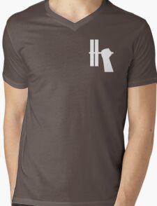 WORKOUT BAR - WHITE 2  Mens V-Neck T-Shirt