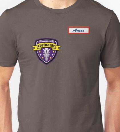 Rocinante w/ Amos patch Unisex T-Shirt