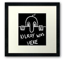 Kilroy Framed Print