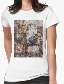 Abstract Impressions Womens Fitted T-Shirt