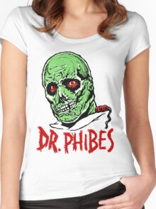DR. PHIBES Women's Fitted Scoop T-Shirt