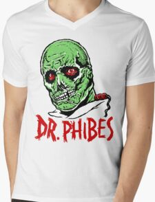 DR. PHIBES Mens V-Neck T-Shirt
