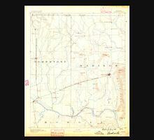 USGS TOPO Map Alabama AL Huntsville 305847 1888 125000 Unisex T-Shirt