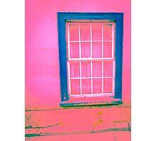 Pink Window Photographic Print