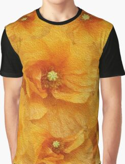 Poppy flower oil painting Graphic T-Shirt