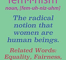 What is Feminism? Poster by Gustave Monet