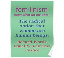 What is Feminism? Poster Poster