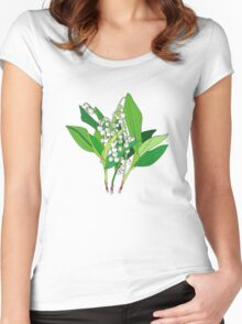 Lilly of the Valley Women's Fitted Scoop T-Shirt
