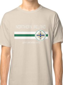 Euro 2016 Football - Northern Ireland (Green) Classic T-Shirt
