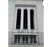 Gate 6 Photographic Print