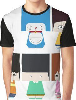 doraemon family danbo Graphic T-Shirt