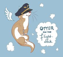 Otter on the Flight Deck - Remake by justaholmesboy