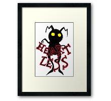 heartless 2 Framed Print