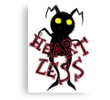 heartless 2 Canvas Print