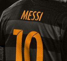 Lionel Messi 10 - Barcelona Sticker