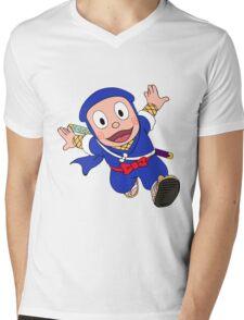 Ninja Hattori Mens V-Neck T-Shirt