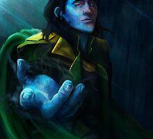 Loki by nicolealesart