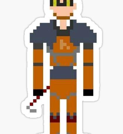 Half-Life - Gordon Freeman Pixl8ed Sticker