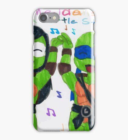 ninja turles dance style iPhone Case/Skin