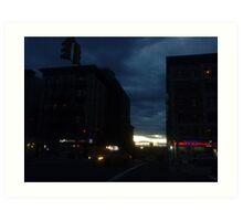 Night and Day Art Print