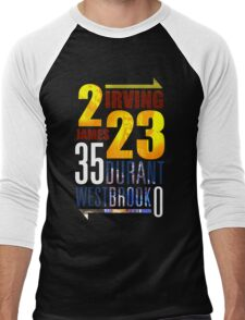 OKC Thunder - CLEVELAND Cavaliers Men's Baseball ¾ T-Shirt