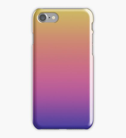 Fade pattern iPhone Case/Skin