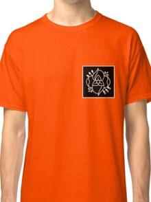 La dispute logo (black bkg with white logo) Classic T-Shirt