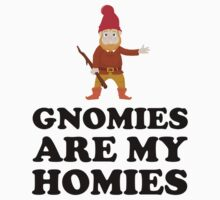 Gnomies Are My Homies One Piece - Long Sleeve