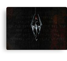 Skyrim Imperial Dragon Canvas Print