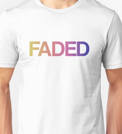 Faded Unisex T-Shirt
