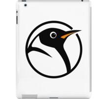 linux penguin circle logo iPad Case/Skin