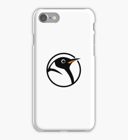 linux penguin circle logo iPhone Case/Skin