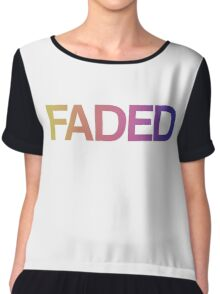 Faded Chiffon Top