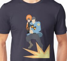 TF2 - BLU Rocket Jump Unisex T-Shirt