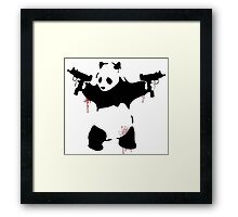 Bad Pandas Framed Print