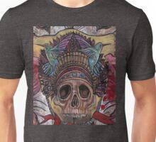skull with hummingbirds Unisex T-Shirt