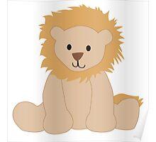 Cute Lion Poster